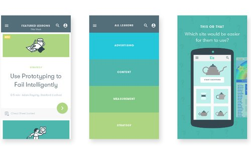 User centric mobile apps design